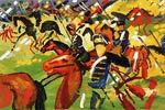 Riding Hussars August Macke