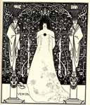 Frontispiece for venus and tannhauser by Aubrey Beardsley