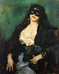 The Black Mask Lovis Corinth