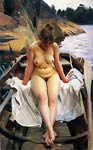 In Werner's Rowing Boat Anders Zorn