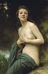 Spring breeze William-Adolphe Bouguereau
