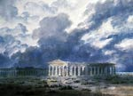 The two great temples at Paestum Alexander Cozens