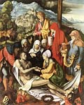 Lamentation for christ 1503 by Albrecht Durer
