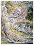 Milton s mysterious dream 1820, William Blake