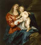 Anthony van Dyck Virgin and Child