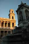 St. Sulpice in evening sun, Paris