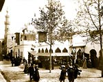 "Pavilions of Morocco on ""a street in Cairo"", Paris Exposition, 1"