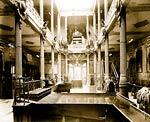 Interior view of the Pavilion of Mexico Paris Exposition, 1889