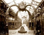 Exhibits in the Palace of Diverse Industries, Paris Exposition,