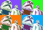 Marx and Engels Pop Art