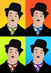 Charlie Chaplin Film Star Pop Art