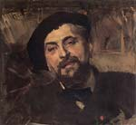 portrait of the artist Ernest Ange Duez (1843 1896)