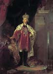 Portrait of Pavel I in costume of Grand Master of the Maltese Or
