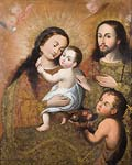 Holy Family with Saint John and a Goldfinch
