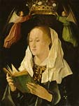 The Virgin Mary Reading