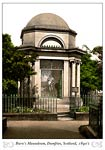 Robert Burn's Mausoleum, Dumfries, Scotland