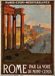 Roman Forum at dawn - Mont-Cenis - poster