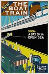 Boston and Maine Railway Vintage Travel Poster