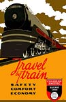 Canadian Pacific Railway Lines Vintage Travel Poster
