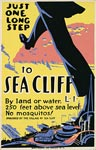 Sea Cliff Long Island vintage poster