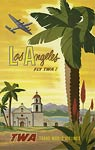 Los Angeles Trans World Airlines poster