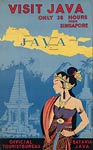 Visit Java, 36 hours from Singapore travel poster