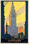 Cleveland, The New Union Terminal travel poster