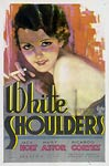 White Shoulders vintage film poster