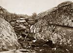 Battlefield of Gettysburg - Dead Confederate, American Civil War