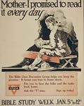 YMCA Bible study World War One, wwi poster