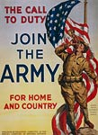 The call to duty Join the Army American World War I Poster