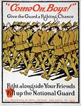 Fill up the National Guard World War I Poster