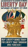 426th anniversary of the discovery of America WWI Poster