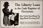 Cash register of patriotism - Uncle Sam - WWI Poster