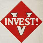 V for Victory - invest - World War I, wwi poster