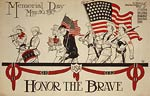 Honor the brave Memorial Day - World War I Poster