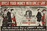 Invest your money with Uncle Sam - WWI Poster
