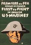 Premiers au feu - first to fight - World War I Poster