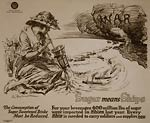 Sugar means shipsn World War I Poster