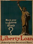 Statue of Liberty - Loan - World War I Poster