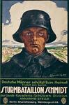 Storm Battalion Schmidt - Germany World War I Poster