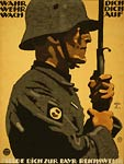 Enlist in the Bavarian Reichswehr German WWI Poster