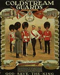 His Majesty's Coldstream Guards British WWI Poster