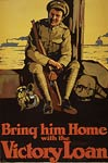 Soldier with rifle and kit - Canada WWI Poster