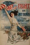 Fight or buy bonds American War Poster