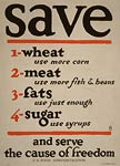 Save food and serve freedom Poster