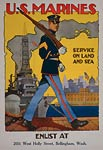 U.S. Marine Corpsn World War Poster