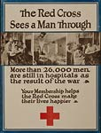 Red Cross American World War Poster