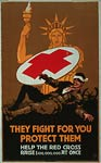 They fight for you American ww1 Poster